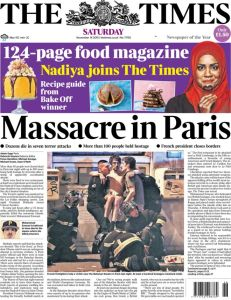 Terrorism, with a free food magazine.