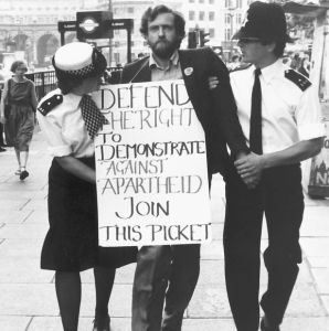 Corbyn demonstrating his inexcusable indifference to the rights of oppressed people.