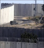 West Bank barrier.